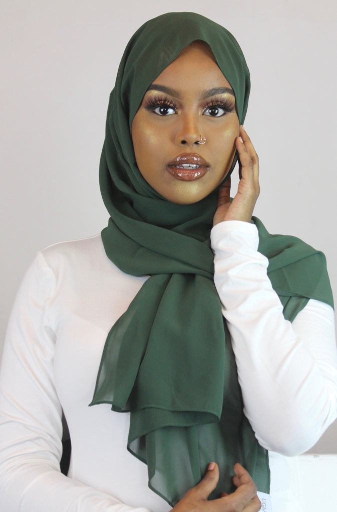 Mountainview Stretch Georgette Hijab