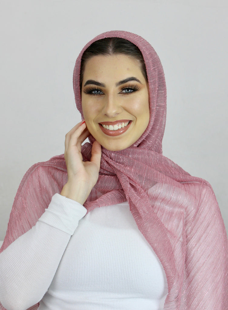 Barbie Crystal Rippled Luxe Hijab