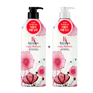 KERASYS Lovely&Romantic Perfumed Shampoo/Conditioner 600ml