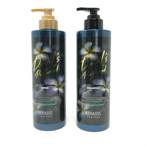 Kerasys Devil's Perfumed Shampoo and Conditioner Rinse (Sparkling Cotton)