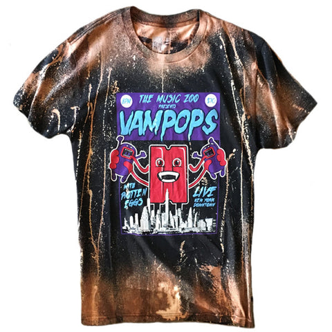 A Rock Beats Paper Custom - Vampops Tee