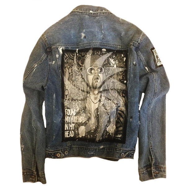 A Rock Beats Paper Custom- Lithium Jacket