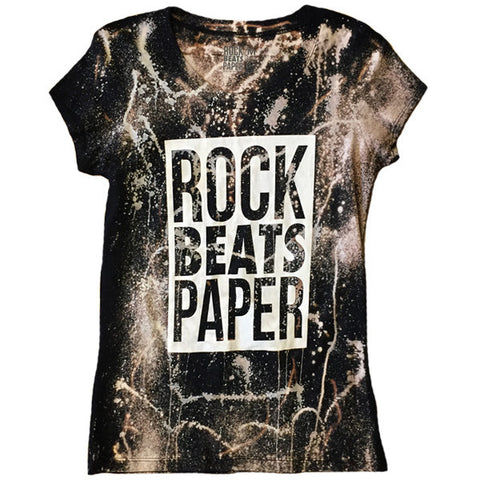 A Rock Beats Paper Custom - Women's Classic Rock Tee