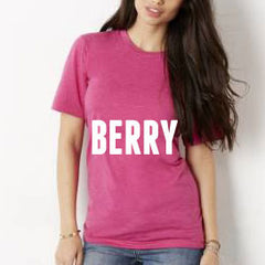 Weekend Tee in Berry