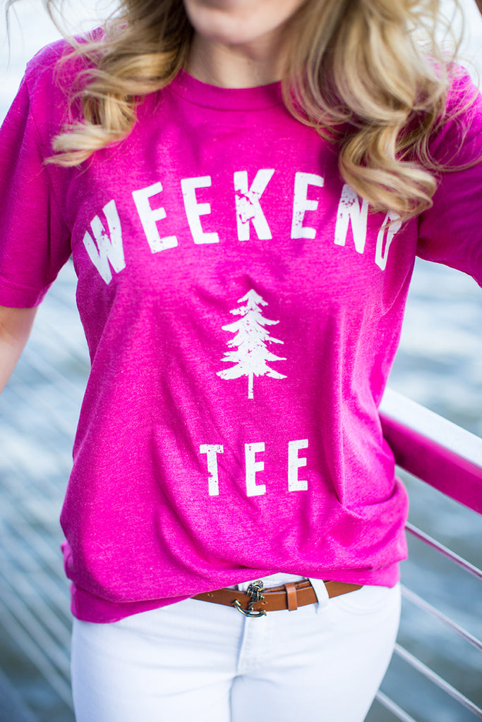 Weekend Pine Tee in New York