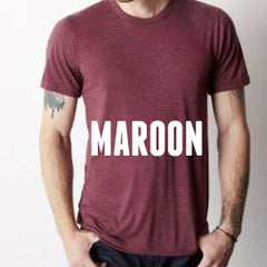 Maroon Weekend Tee