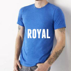 Weekend Tee in Royal Blue