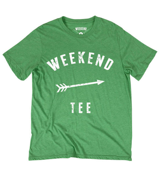 Weekend Warrior Tee Green