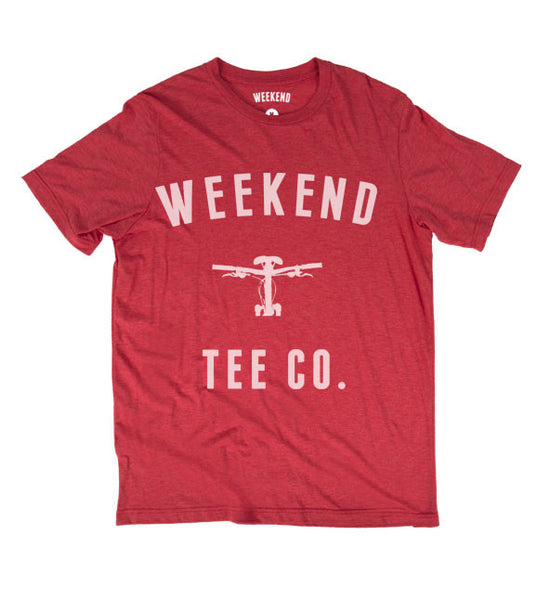 Weekend Bike Tee - Red