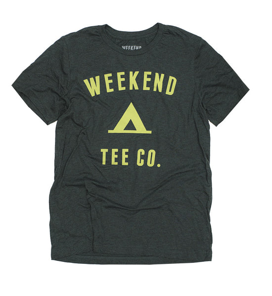 Weekend Camp Tee in Green