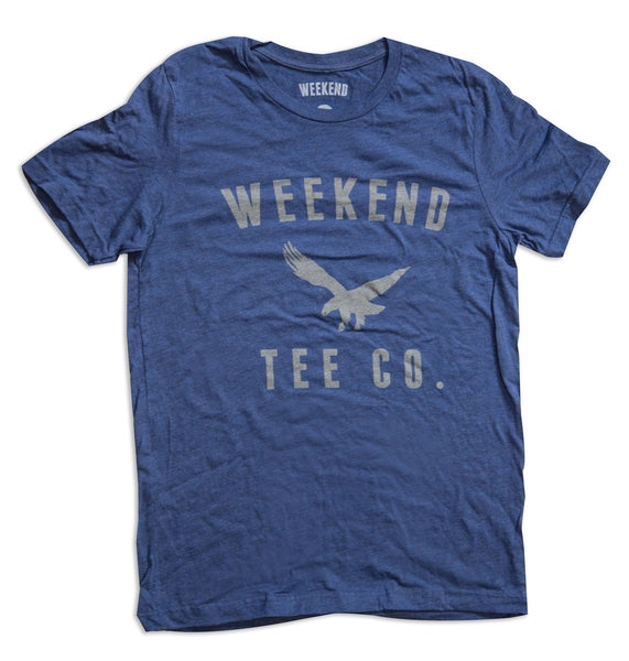 Weekend Freedom Tee Blue