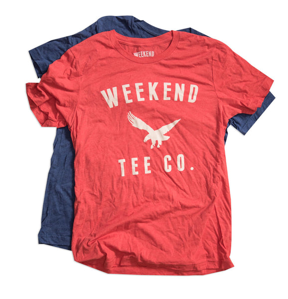 Weekend Freedom Tee Red