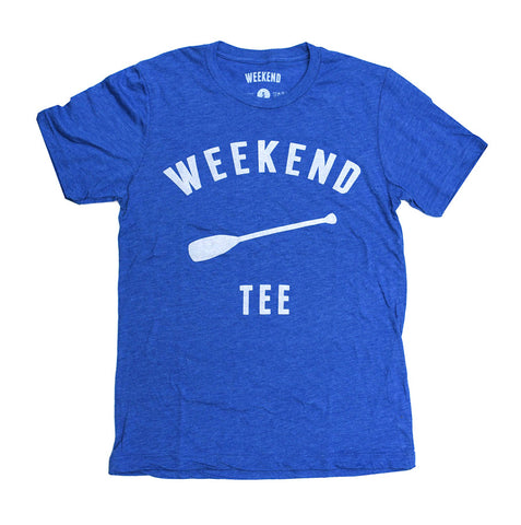 Weekend Paddle Tee Blue