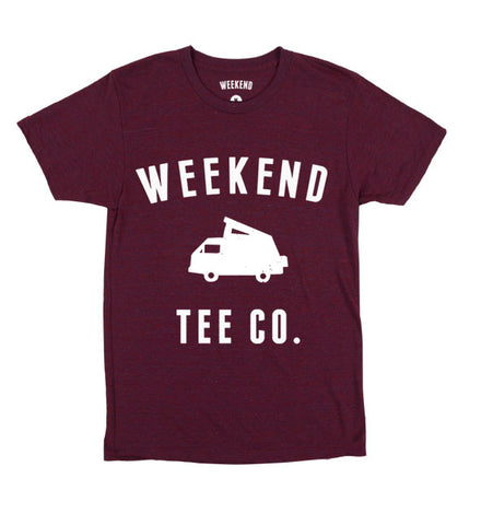 Weekend Road Trip in Maroon