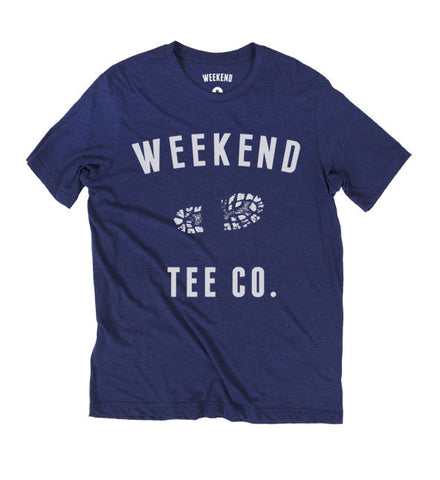 Weekend Trail Tee in Blue