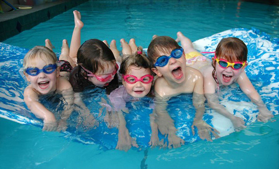 Unleash the Water Babies...innovative swimwear for kids with special needs