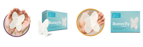 Attends Butterfly Body Patches for fecal incontinence