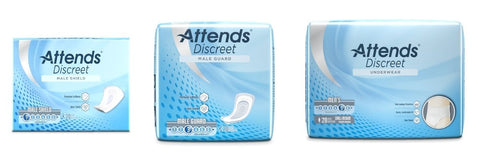 Attends Just for Men: underwear Shields, Guards and disposable underwear