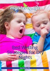 Free ebook: Bed Wetting Strategies - A Parent's Guide to Dry Nights from MyLiberty