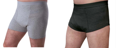 Men's Washable Absorbent Underwear for light incontinence