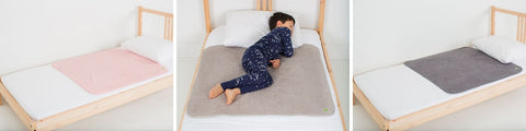 PeapodMats washable waterproof bed wetting mats
