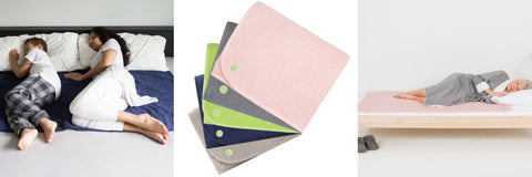 PeapodMats - washable, absorbent bed wetting mats