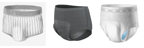 Protective incontinence underwear for Men