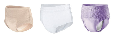 Women's disposable incontinence underwear / pull-ons