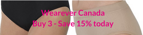 Wearever Canada underwear available in 3-Packs