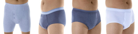 Wearever Canada washable, absorbent boxers and briefs for Men