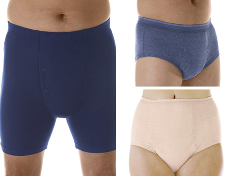 Washable absorbent leak proof underwear