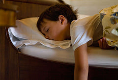 Child sleeping deeply