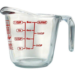 Measuring cup - 1 cup - 8 oz - 237 ml
