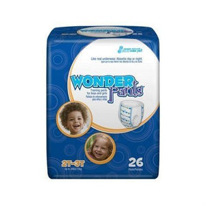 WonderPants Training Pants for boys or girls from Prevail 2T-3T packaging