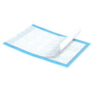 TENA Regular Underpads for bed or chair protection are designed to cover mattresses in order to help absorb leakage, help reduce odours and help maintain dryness