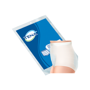 TENA Heavy Protection Pads with optional Pant System packaging and product
