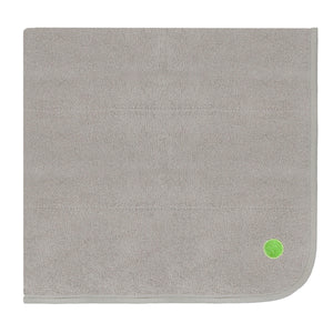 3'x3' PeapodMats Washable & Reusable Waterproof Bed Wetting Incontinence Mats sandman taupe folded