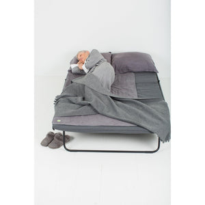 3'x'5 Dark Grey granite PeapodMats Washable & Reusable Waterproof Bed Wetting Incontinence Mats length of bed