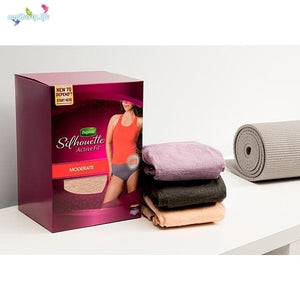 Depends Silhouette Active Fit Low Rise Briefs for Women: disposable underwear in 2 sizes & 3 colours