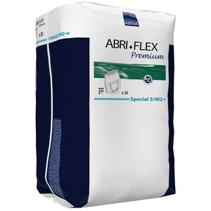 Abena Abri-Flex Special Protective Underwear for incontinence Small/Medium S/M2 package