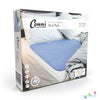 Conni Mate Washable Bed Pad with Waterproof Barrier Mauve packaging