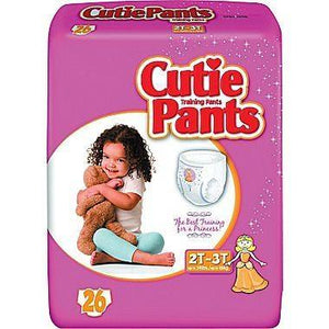 Cutie Pants Training Pants with Refastenable Sides from Prevail 2T-3T Girls packaging