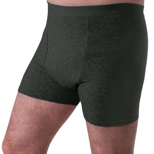 Reusable washable absorbent underwear for Men from Conni Kalven style for bladder leak protection in Black