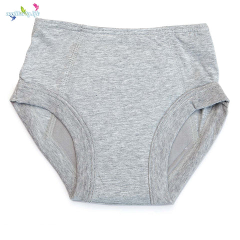 Conni Kids Tackers incontinence underwear - Grey Briefs for Boys or Girls