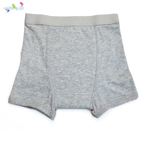 Conni Kids Tackers incontinence underwear - Grey boxers for Boys or Girls