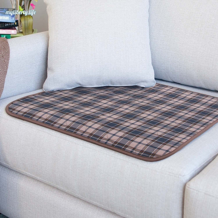 Conni Washable Chair Pad with waterproof barrier