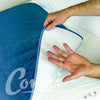 Wick test Conni Mate Washable Bed Pad with Waterproof Barrier