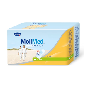 Molimed Premium Pad for bladder leak protection Mini packaging