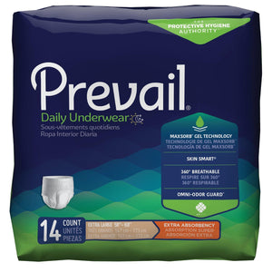 Prevail Protective Pull-on Disposable Underwear - Extra Absorbency Extra Large package front