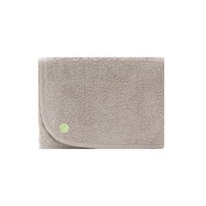 3'x5' PeapodMats Washable & Reusable Waterproof Bed Wetting Incontinence Mat Large Taupe folded